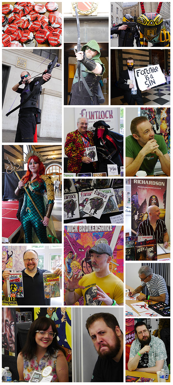 Photos from the 2018 Manchester Comics and Reading Festival
