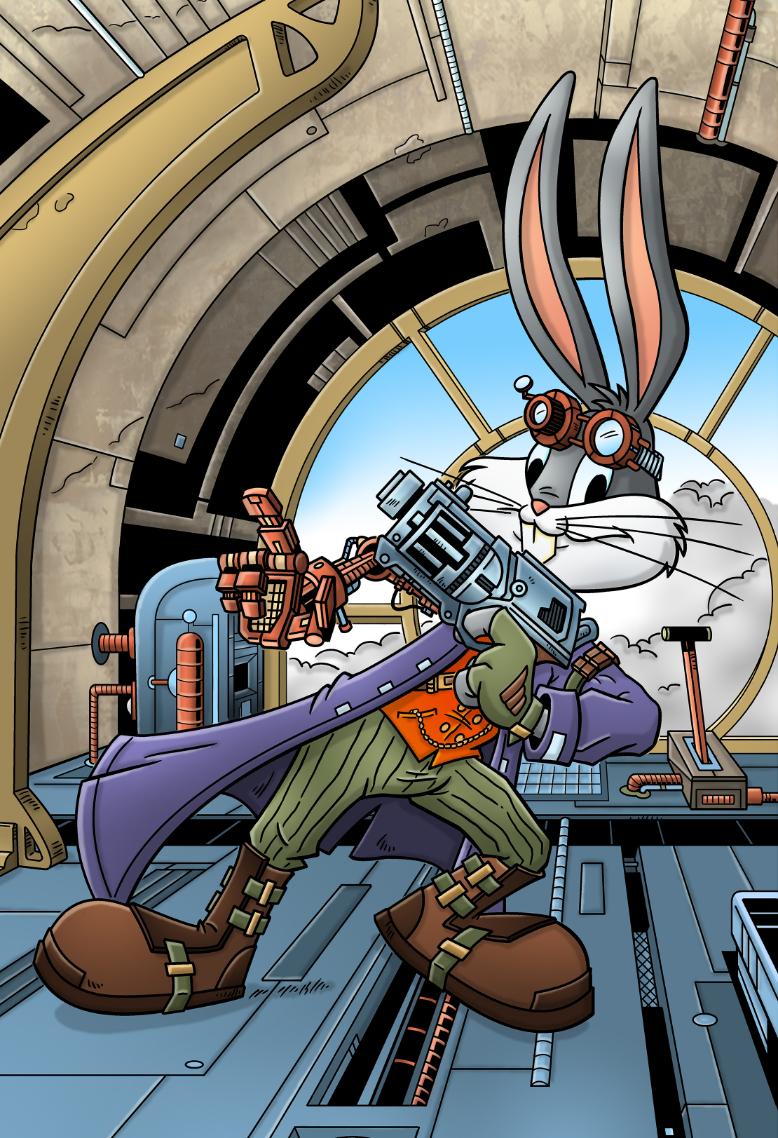 Steampunk Bugs Bunny