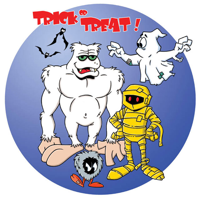 Trick or Treat Characters