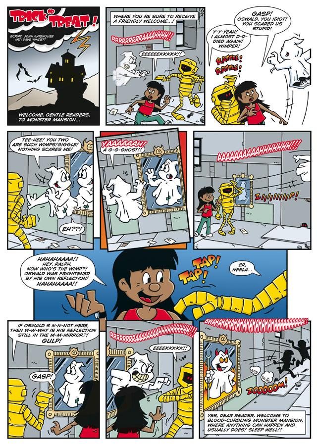 Trick or Treat Comic