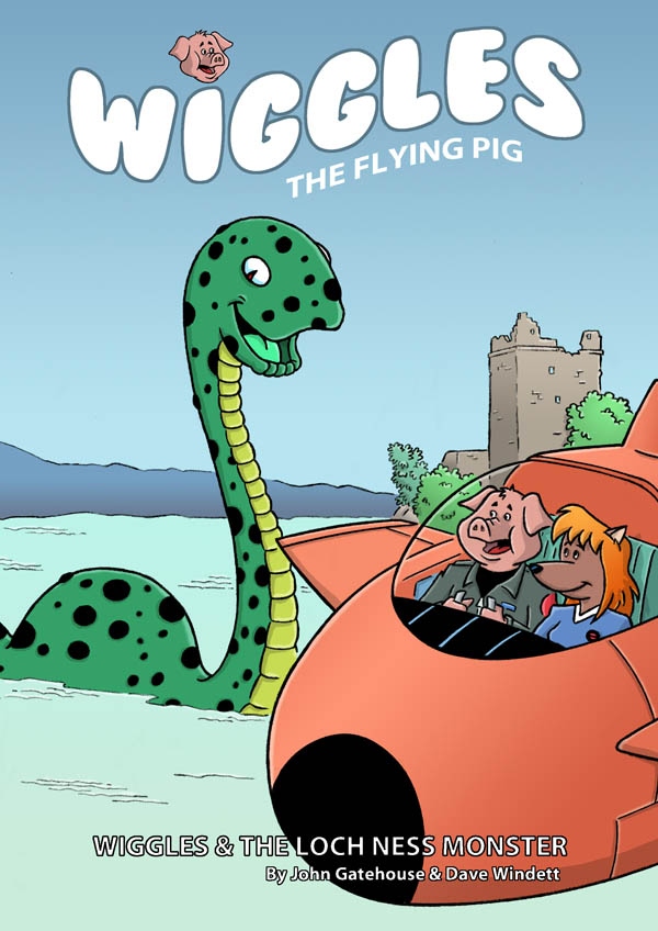 Wiggles the Flying Pig