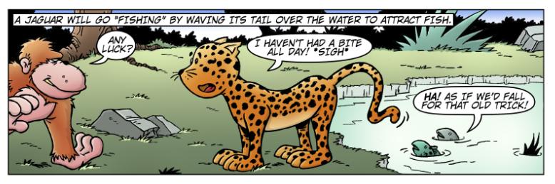 Wacky World of Animals: Jaguar