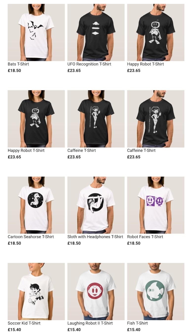 T-Shirts on Zazzle